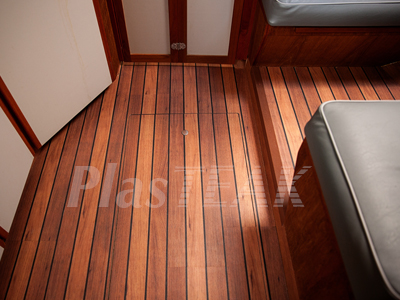 EZ Boat Sole Teak And Holly Interior Flooring