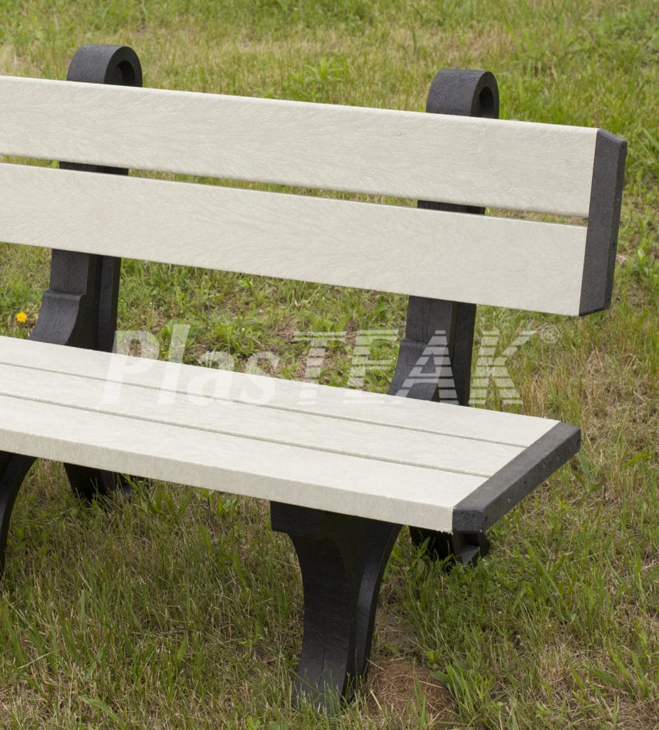 Picture of: 4 Recycled Plastic Standard Park Bench Plasteak Inc