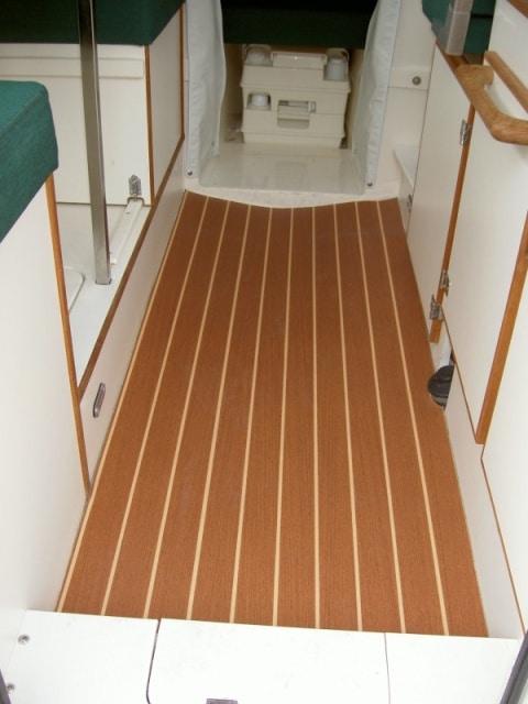 Teak Amp Holly Flooring Matte Finish Plasteak Inc